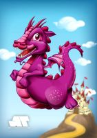 Little flying Dragon by antonist