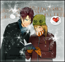 lost and cold by HizuMaki