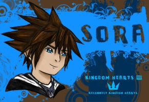 Sora: Reconnect Kingdom Hearts by AzuraJae