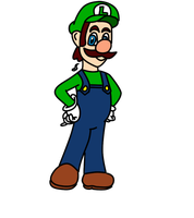 Luigi :Commission: by SirenAnimations