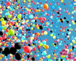 balloons 1280x1024 WALLPAPER by myhardcorepony
