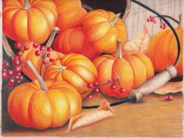 Pumpkin Party by Melmo1123