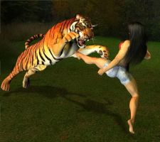 The Tiger Attacks by mit19237