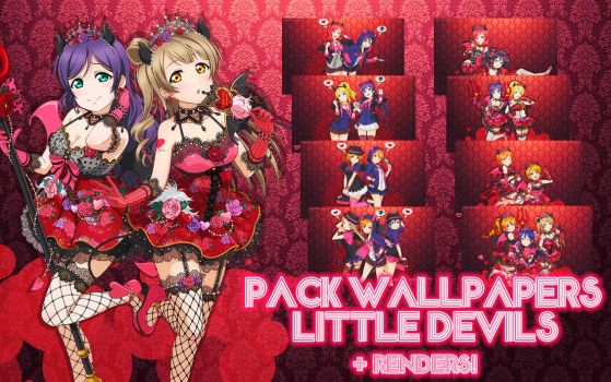 Pack Love Live Wallpapers Little Devils by MayMugiLee