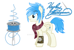 Say Hello to Kaylen Threadspinner! :3 by Zis-Zas