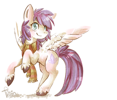Crystal Snow by why-so-cirrus