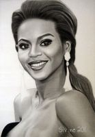 Drawing Beyonce 9 by Sivine