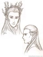 Elves of Mirkwood by theLostSindar