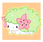 Shaymin ' v ' by Jellechu
