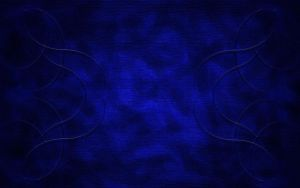 Fractal Wires on Blue by Kaessa