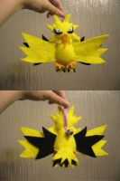 Zapdos Bell Plush by Sexual-Pancake