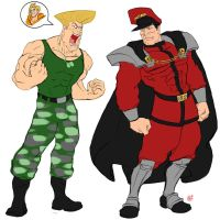 SF2 Big red and Doublemint by Koui