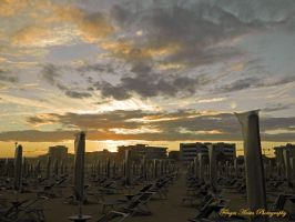 Sunset in Bibione by AnitaBright