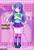 Equestria Girls Twilight Sparkle by SakuraAlice33