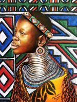 Ndebele gift. by SamanthaJordaan