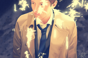 Castiel by wondering-souls