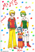 M and M's Family Human by yuuyami-artist