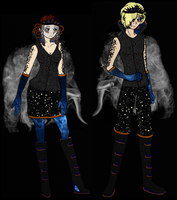 60th HG - Ashton and Winnow's Parade outfits by HileyCaine
