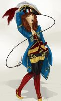 Pirate Lady by adelruna