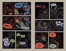 FNAF4 Comic - House Party - Page 25 - 9-2-16 by Mattartist25