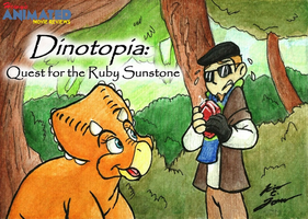 HAMR Dinotopia Title Card by HewyToonmore