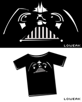 Darth Vader T-Shirt by Loweak