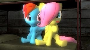 Filly Flutterdash: I'm here for you by Legoguy9875