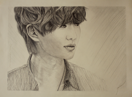SHINee's Onew by HailieM