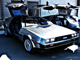 Delorean - 001 by PxRxSxRx