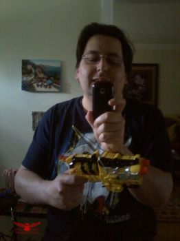 My Deluxe Dino Charge Morpher by OtakuDude83