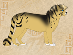 Golden Tigger 11165as by SheduMaster