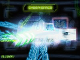 cyber space_v2 by Alkinoy