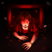 The Lady in Red by XxSadako-chanxX