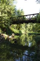 Old iron bridge by AprilEileen2013