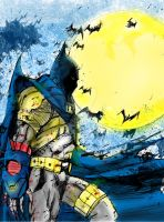 Knightfall Batman by Graymalkin2112
