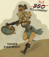 363 tumblr followers by SteveLeCouilliard