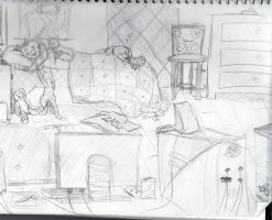 My Room WIP by Songficcer