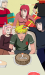 Happy Birthday Naruto! 10/10/14 ~ Naruto Shippuden by TheMuseumOfJeanette