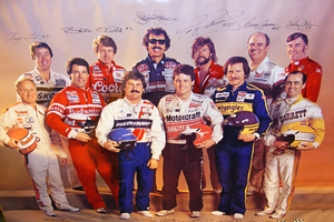 Winston Cup  Event poster 1985 by deviantmike423