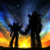 Skyfire and Starscream 3 by mucun