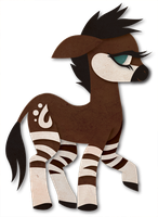 My Little Okapi by Sleepwalks