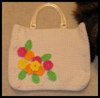 Flower Bag by radioactive-orchid