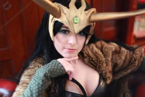 Lady Loki of Marvel Comics by VandorWolf