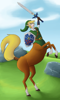 The Hero of Hyrule by SepiSnake
