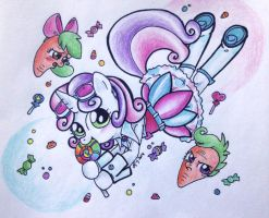 Candy Candy Cutie Sweetie Belle by Matsuban
