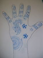 Henna Design 1 by PJ987
