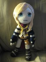 Lightning Plush FFXIII by Momosangel