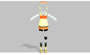 MMD Sporty and cute set by amiamy111