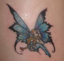 micro fairy by horrorink