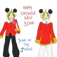 Happy Chinese New Year! by Ssu-Chan